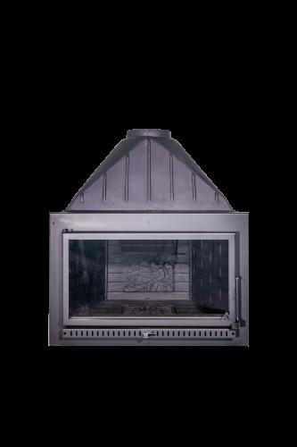 T80 Flat Ανοιγόμενη πόρτα - Swinging door (Κλειστού τύπου - Closed hearth)-1-min